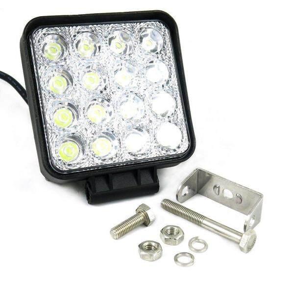 Đèn LED Làm Việc Offroad 48W, Xe Tải Thuyền 12V 24V Lái Xe