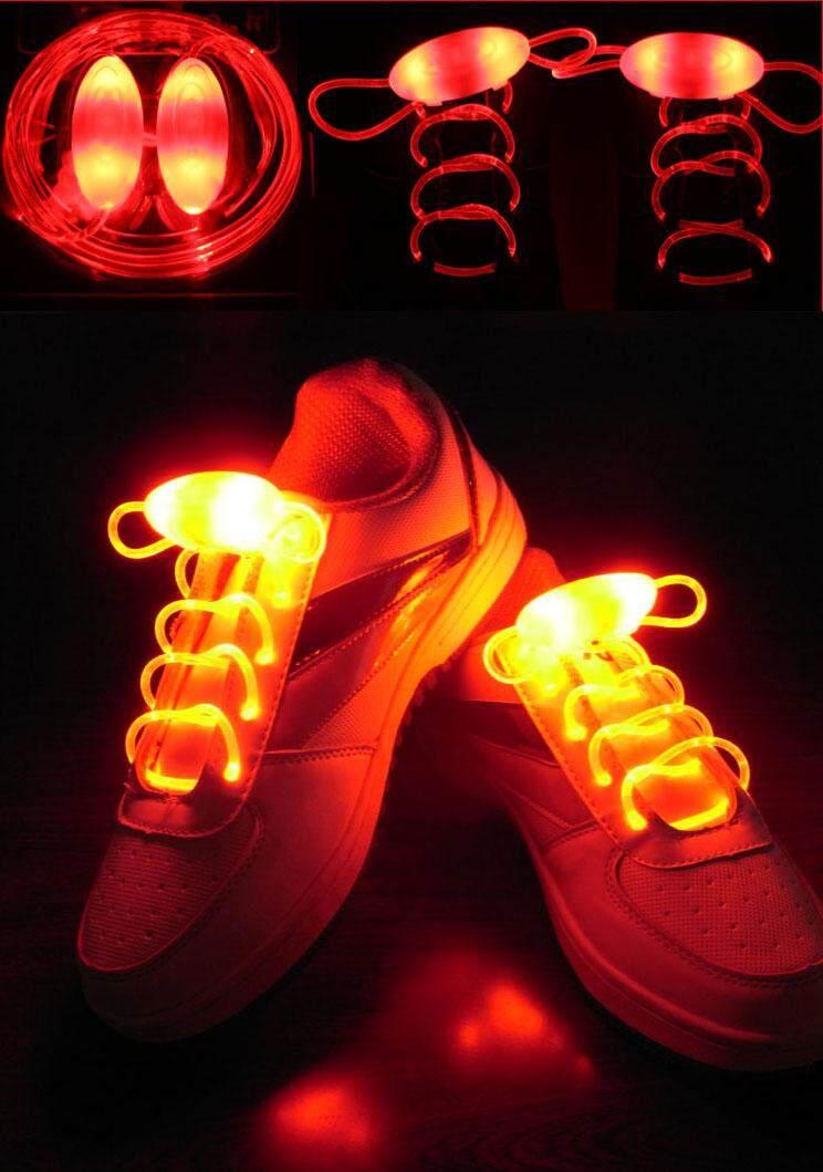 Sepasang Sepatu Tali LED Cahaya Creative Lebih Tinggi Tali Sepatu LED Flash  Pesta Sepatu Disko Tali 4807423378