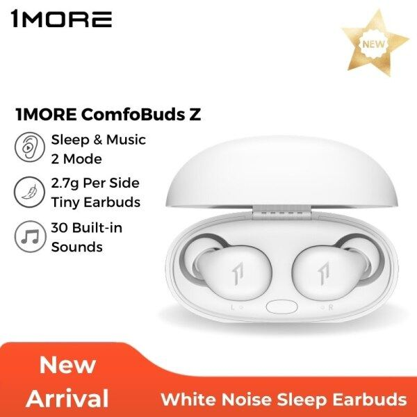 1MORE ComfoBuds Z Sleep Earbuds Tws Wireless Headphones Music & Soothing Mode White Noise Blocking Earphones 30 Sound Built In Singapore