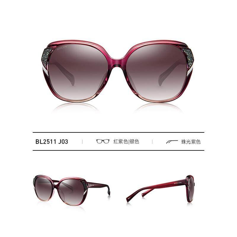 2f10a0164e BOLON Butterfly Polarized Sunglasses Women s Personality Trends Sunglasses  Fashion Round Face Glasses BL2511