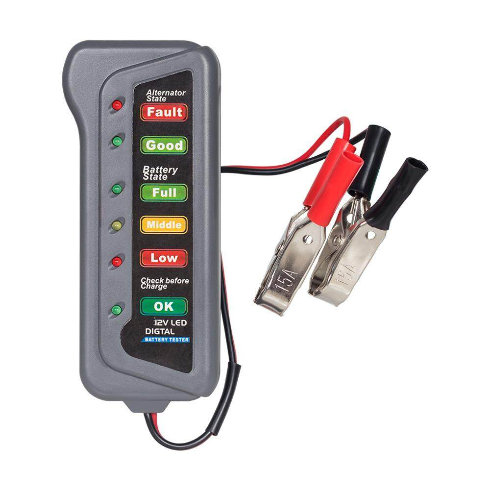 Car Battery Tester For Sale Load Online Brands Vn Alternator Wiring Diagram T16897 12v Automotive Analyzer Styling Detector 6 Led