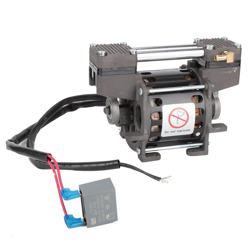 220V 80W Oilless Vacuum Pump 660mmHg/-88kPa 18L/min Vacuum Air Pump