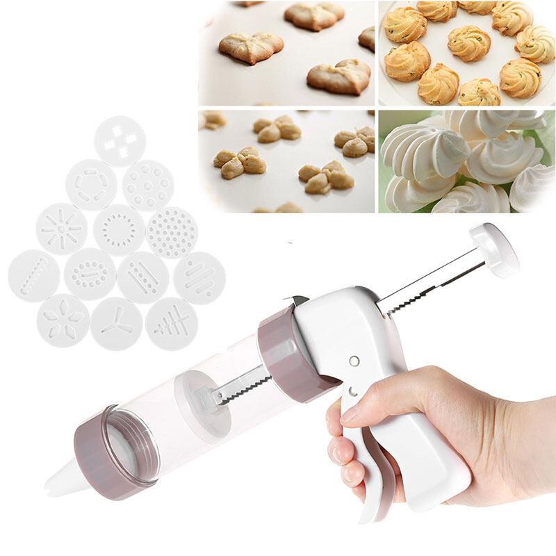 13 Chế Độ Khác Nhau Dụng Cụ Trang Trí Bình Ép Bánh Quy Cookie Press Biscuit Làm Công Cụ Bền Không Độc Hại Khuôn Bánh Quy Bình Ép Bánh Quy Cookie Press Trang Trí Món Tráng Miệng Máy Với Giá Sốc