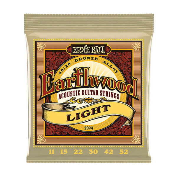 Ernie Ball 2006 Earthwood Extra Light Acoustic Guitar Strings 10-50 Musical Instrument Parts Malaysia