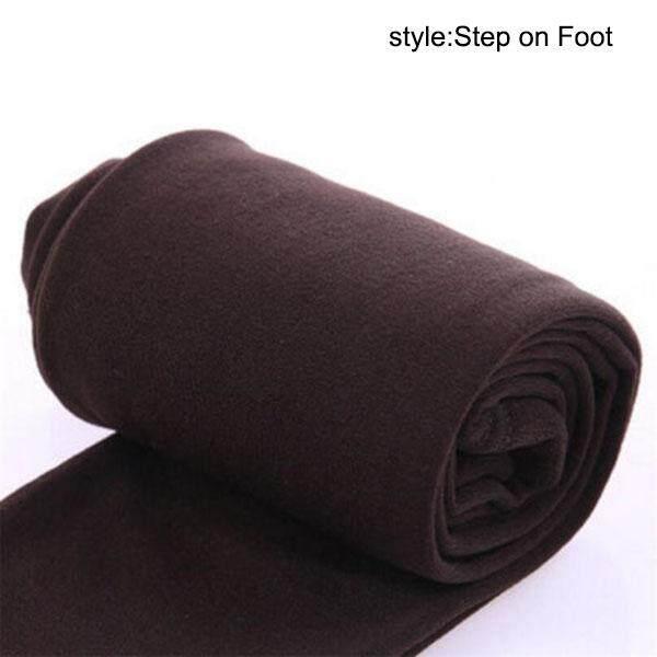 Zotop ผู้หญิงความร้อนขนแกะฤดูหนาวเลกกิ้งยืดได้ Warm การเรียงขนแกะ Slim กางเกงระบายความร้อน By Zotop.