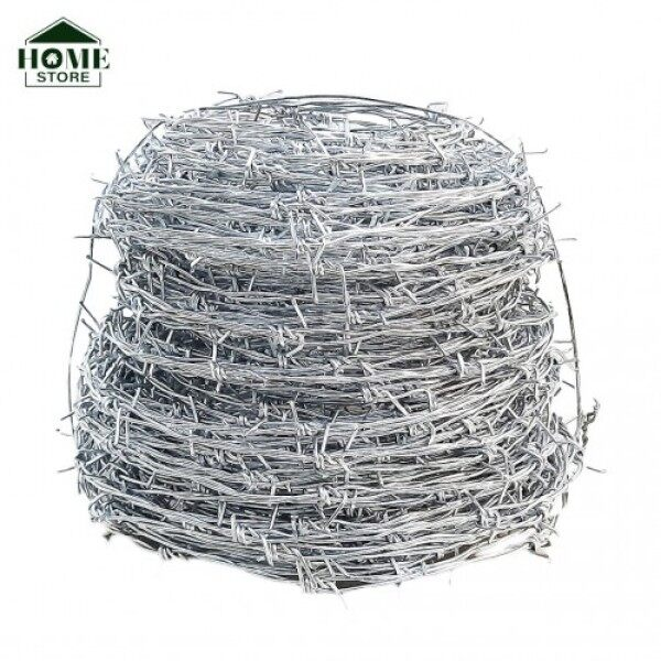 Home Store Galvanized Security Barbed Wire 2MM (T) x 72M (L) x 6KG