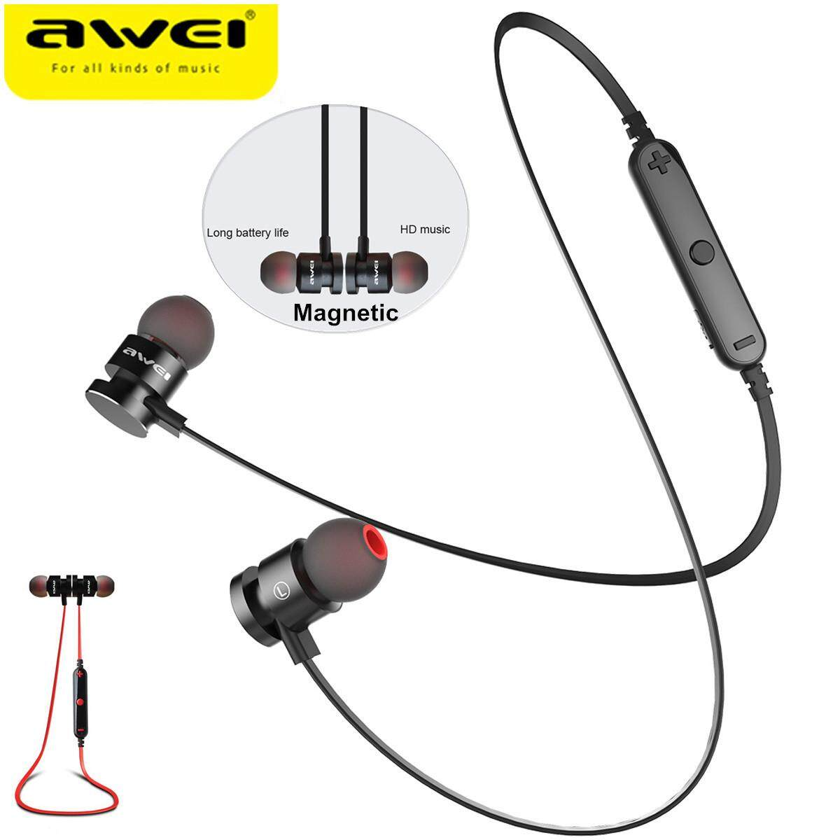0db566d3b96 【Free Shipping + Flash Deal】AWEI T11 Sport Magnetic Wireless bluetooth  Headphone Headset For