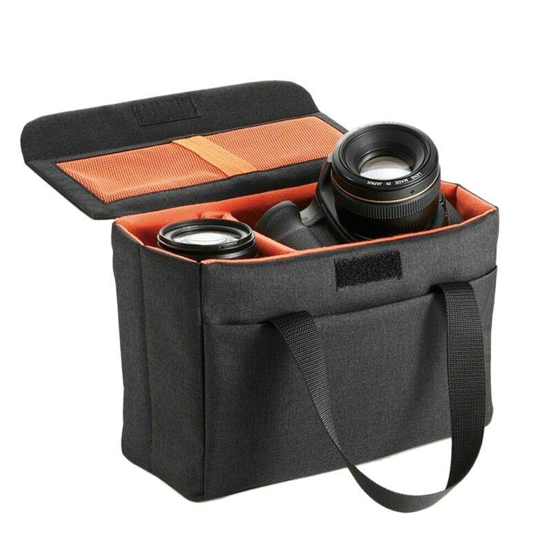 Coupon Khuyến Mãi Waterproof Camera Bag Shockproof Partition Padded Case Portable Insert Lens Bags