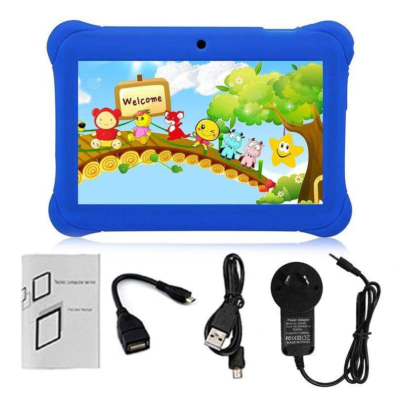 WOND Q88 AU Plug Children Tablet 7-Inch Touch Screen 512MB+8GB Kid Pad With Speaker