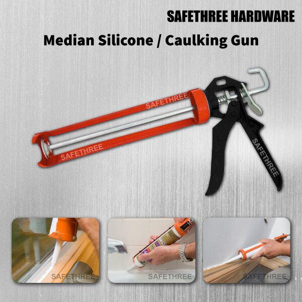 Silicone Caulking Gun for Cartridge Caulk Tool and Pressing Inject Silicone Sealant