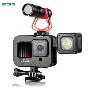 ESCAM Khung Hợp Kim Nhôm Vỏ Ngoài Cho GoPro Hero 9 Màu Đen Camera Hành Động thumbnail