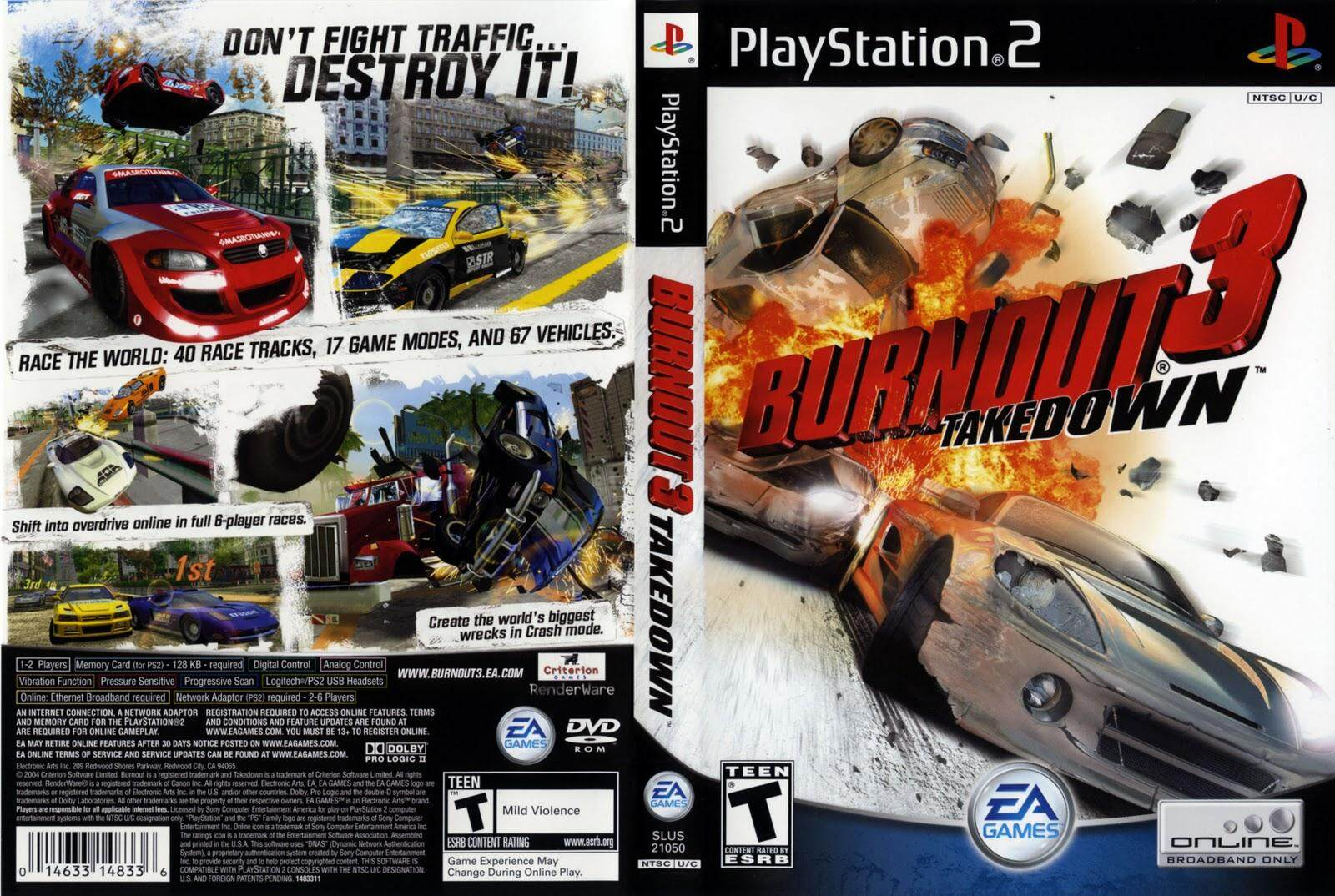 Ps2 Burnout 3 Takedown By Ithomas.