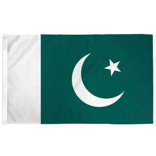 【In stock】flag 90 x 150cm Pakistan flag Banner Hanging National flag Pakistan Home Decoration flags
