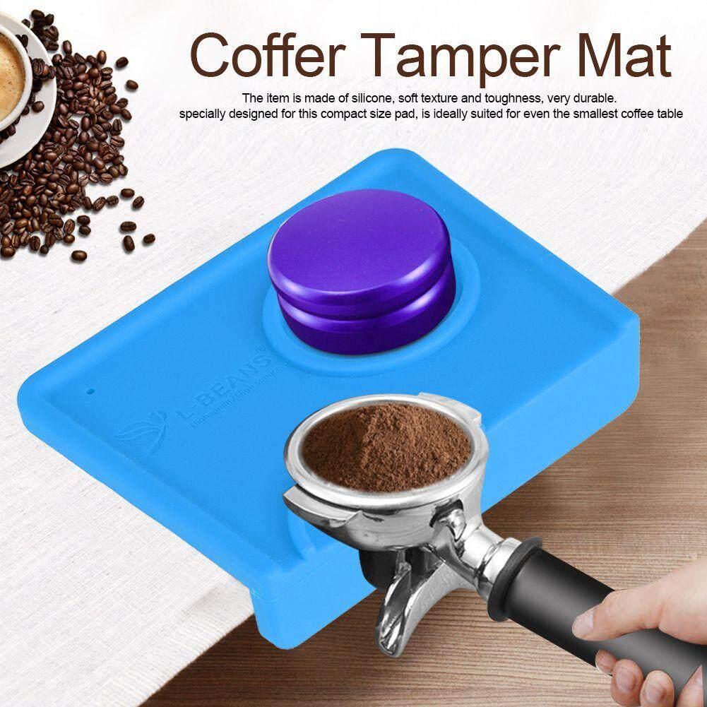 Non - ลื่นซิลิโคนใส่อาหารที่ปลอดภัยแผ่นกันกระแทกกาแฟ Espresso กาแฟ Tamp Cafe Home By Homeh Mall.