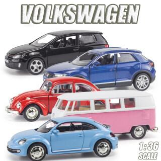 RUM Xe Ô Tô Đúc 1 36 Dòng Xe Volkswagen T-ROC Mô Hình Xe Hơi Hợp Kim GOLF GTI BEETLE Đồ Chơi Cho Bé Trai, Đồ Chơi Cho Trẻ Em Quà Tặng Cho Bé Trai Mô Hình Xe Hơi Cho Bé Trai Sưu Tập thumbnail