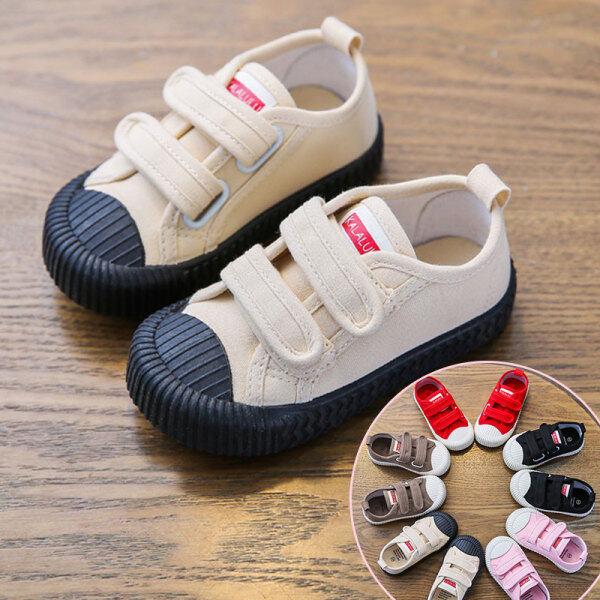 Giá bán Giày Vải Bố Mới Nhà Tiantian Cho Bé Trai Và Bé Gái, Giày Bánh Quy Có Đế Mềm, Giày Đơn Velcro