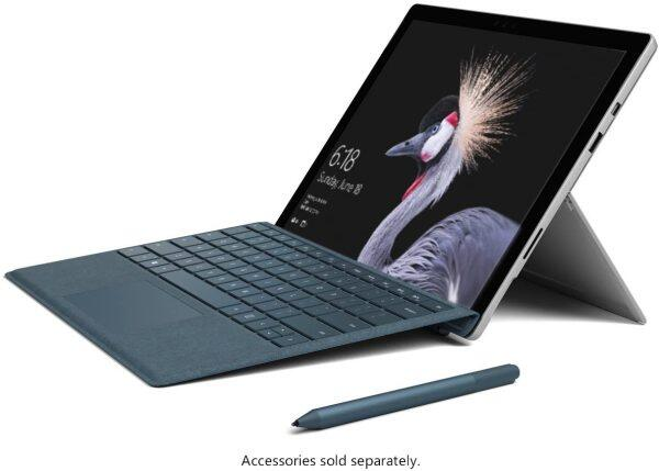 Microsoft SURFACE PRO 5 Intel Core i5 7th GEN Processor with ORIGINAL SIGNATURE Type Cover (keyboard)+Stylus Pen Malaysia