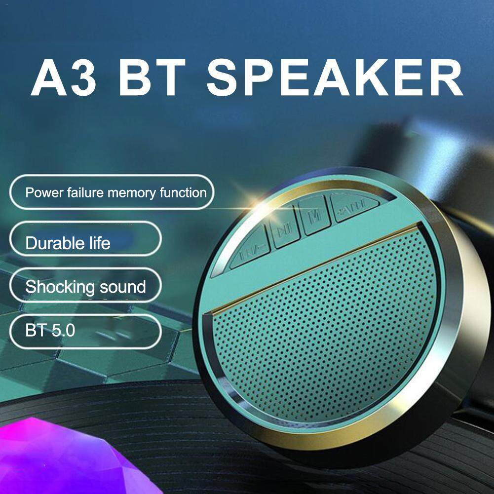 Wireless Subwoofer Bluetooth Speaker Stereo HIFI HD Sound Quality Loudspeaker with Bluetooth 5.0 Chip for Better Sound Quality