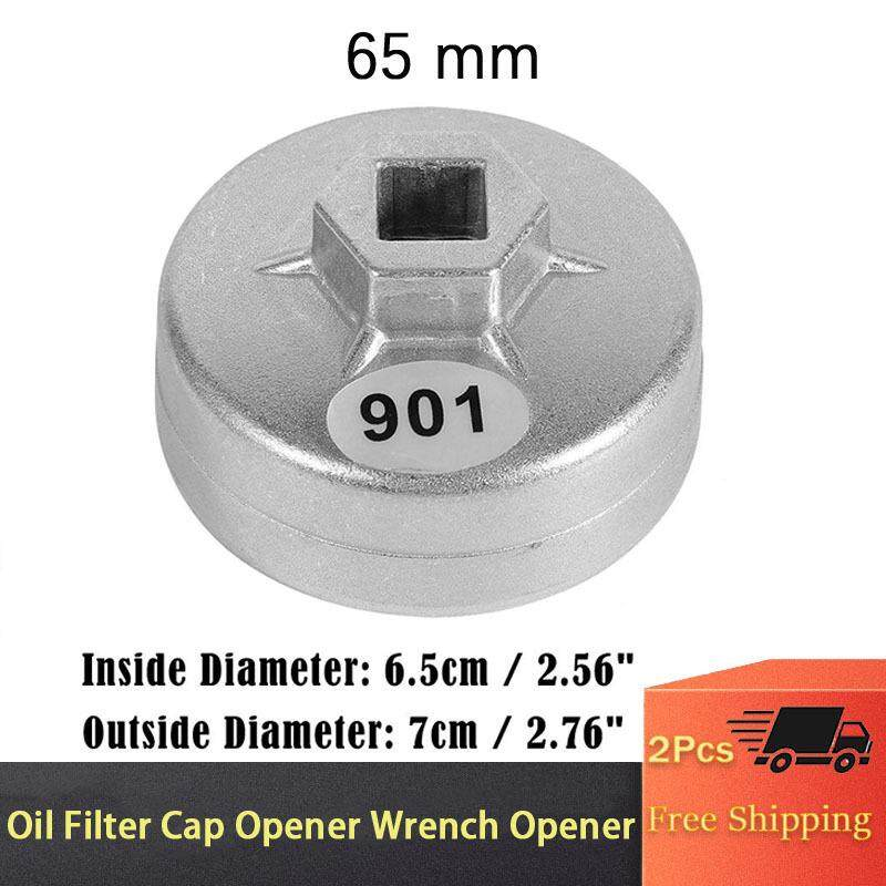 1x 65mm 14 Flutes Cap Oil Filter Wrench Car Socket Remover Tool For Toyota A8