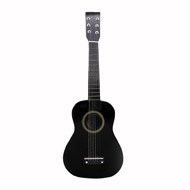 Ready Stock IRIN 23 Inch Basswood 12 Frets 6 String Guitar for Beginners(black) COD Malaysia