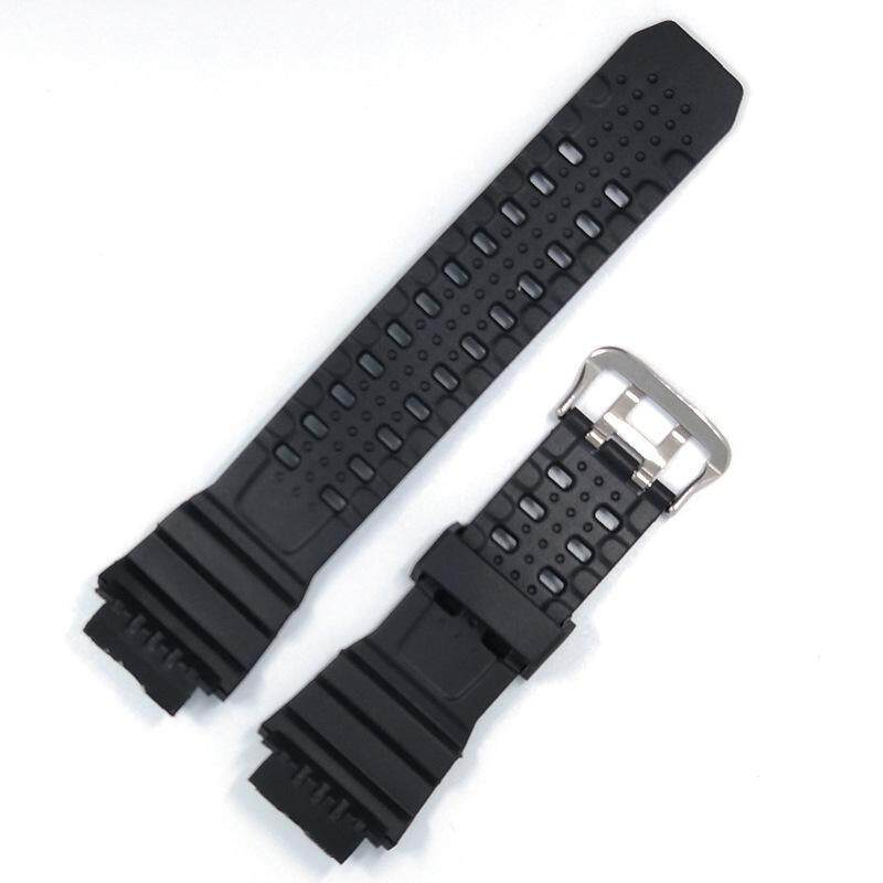 Replacement Compatible Watch Strap Band Strap Band fits Gshock GW9400 g Shock GW-9400-1 g-Shock GW-9400BJ-1 & GW-9400J-1 RANGEMAN Soft Silicone Rubber Malaysia