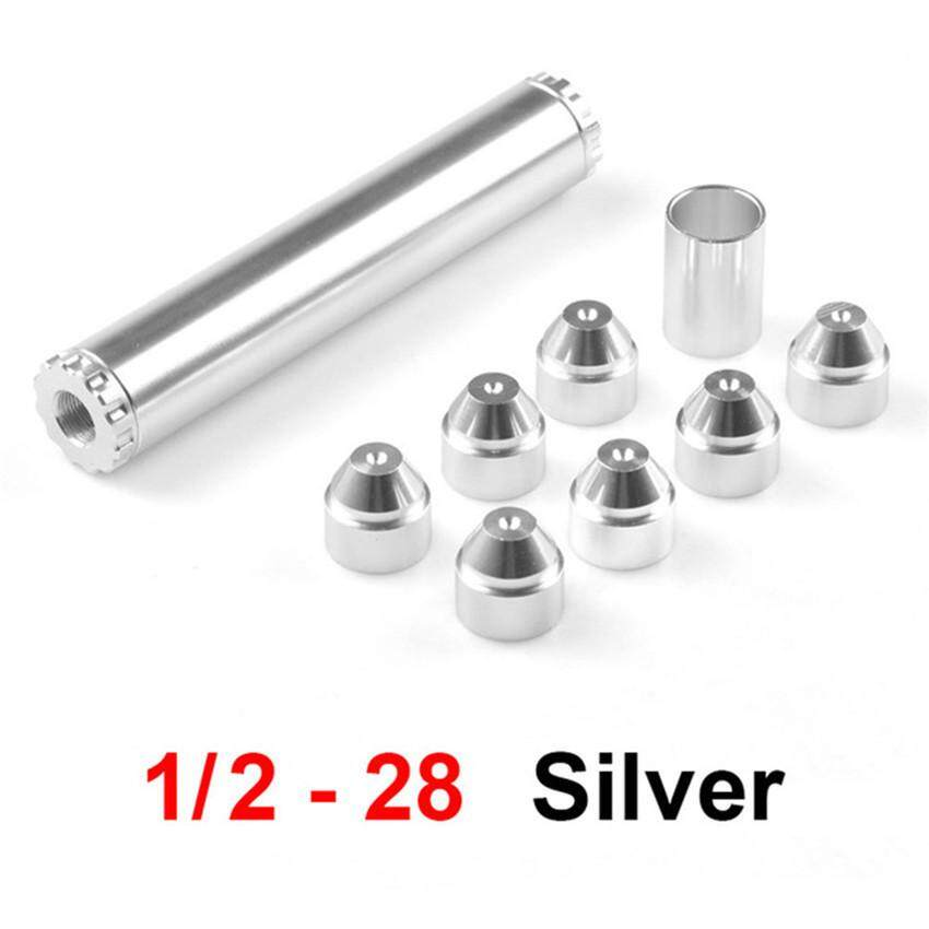 MA 1/2-28 Fuel Filters Fuel Trap Solvent Filter 1X6 For NAPA 4003 WIX 24003  6061-T6 Automobiles Filters (Silver)