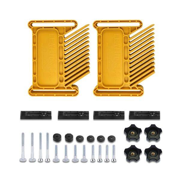 Multi-Purpose Woodworking Feather Loc Board Set Engraving Machine Double Featherboards Miter Gauge Slot Woodwork Diy Tool