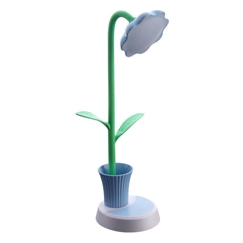 Bảng giá Zhengcreative Hoa Hướng Dương Kẹp Giữ Bút Đèn Bàn Sạc USB Phòng Ngủ Máy Tính Để Bàn Đèn Bàn Nhỏ Đèn Bàn Ký Túc Xá Sinh Viên Mắt Đèn Phong Vũ