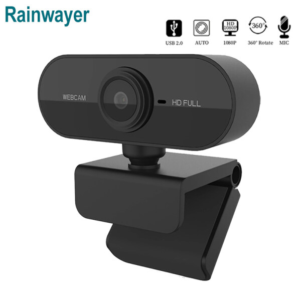 Webcam 1080P 2K HD Máy Tính PC Có Micro Camera Xoay Được Để Phát Trực Tiếp Gọi Video Công Việc Hội Nghị