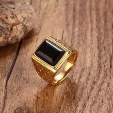 แหวนทับทิม,ทอง,แหวนทองคำ,แหวนเพชรเลียนแบบเหล็กไทเทเนียม,แหวนบุรุษสตรี,แหวนคริสตัลสองแถว,แหวนอัญมณีสหรัฐอเมริกาขนาด 7-11