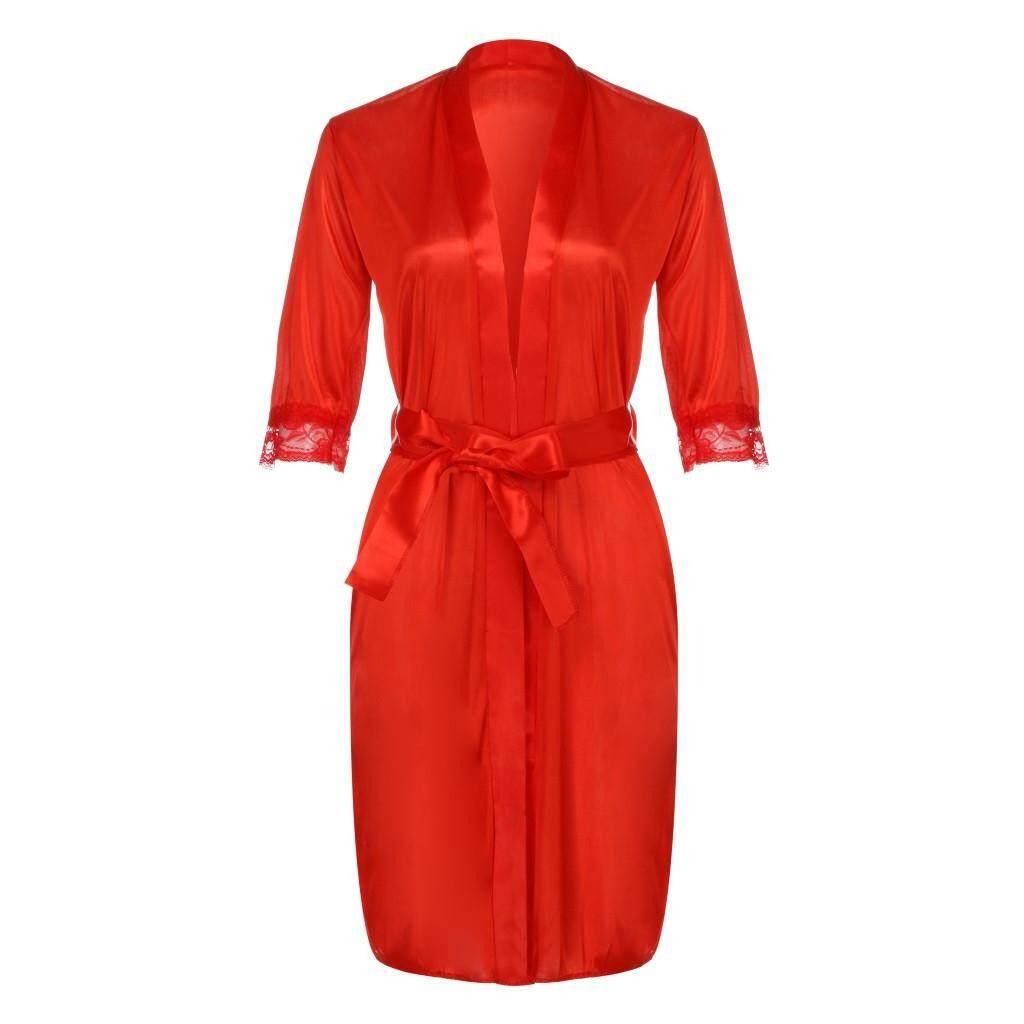 RichNa Shop Nữ Nữ Gợi Cảm Lụa Quần Lót Đồ Ngủ Váy Ngủ Áo Choàng Áo
