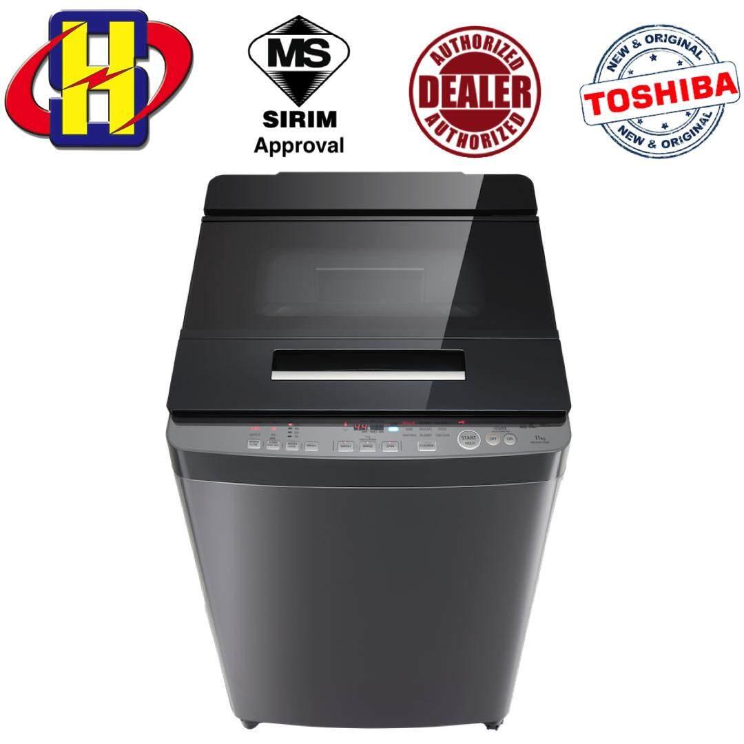 Toshiba AW-DUH1200GM (DS) 11.0 KG DD-INVERTER Nano Wash Washing Machine