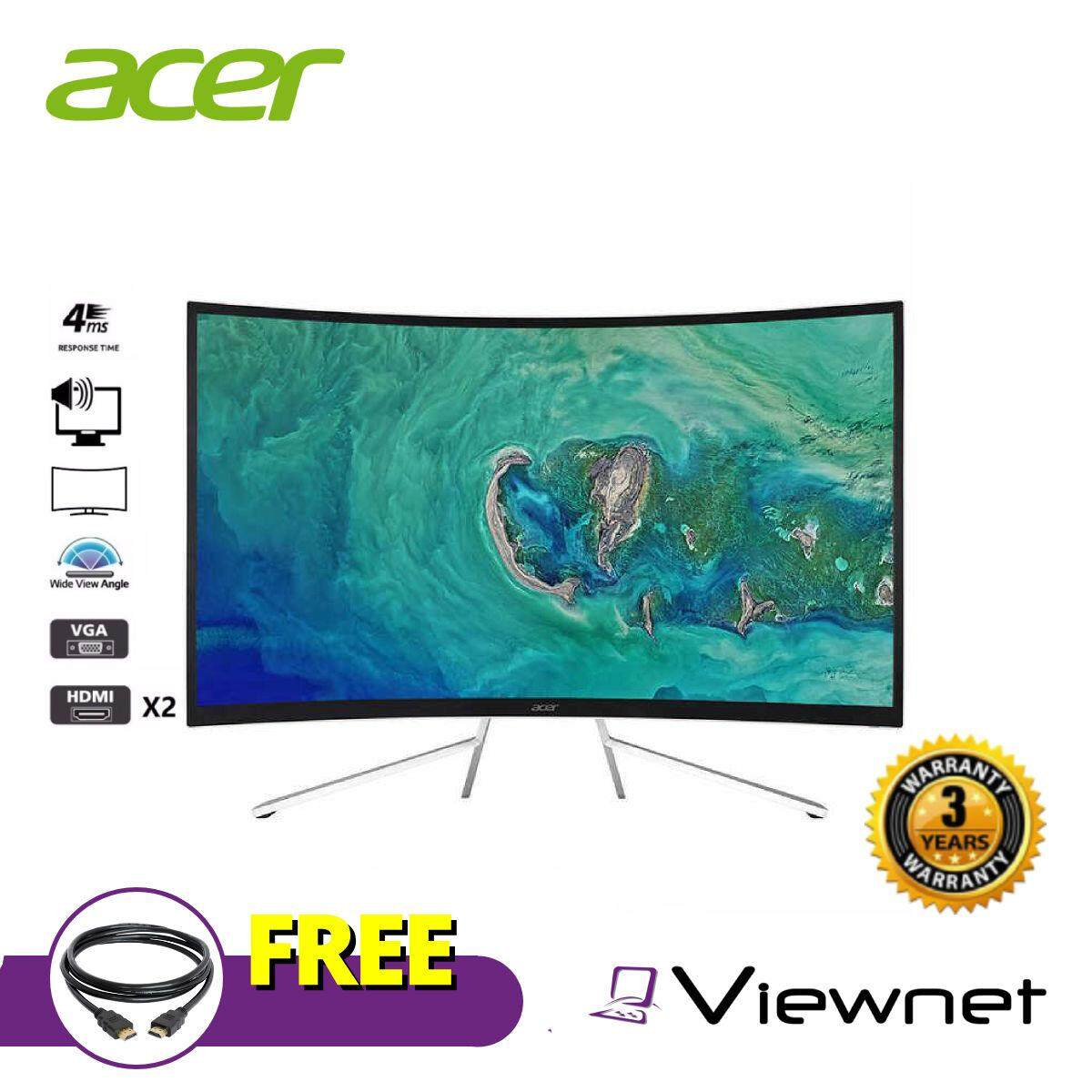 ACER ET322QR Curved FreeSync 75hz 31.5 FHD Monitor Malaysia