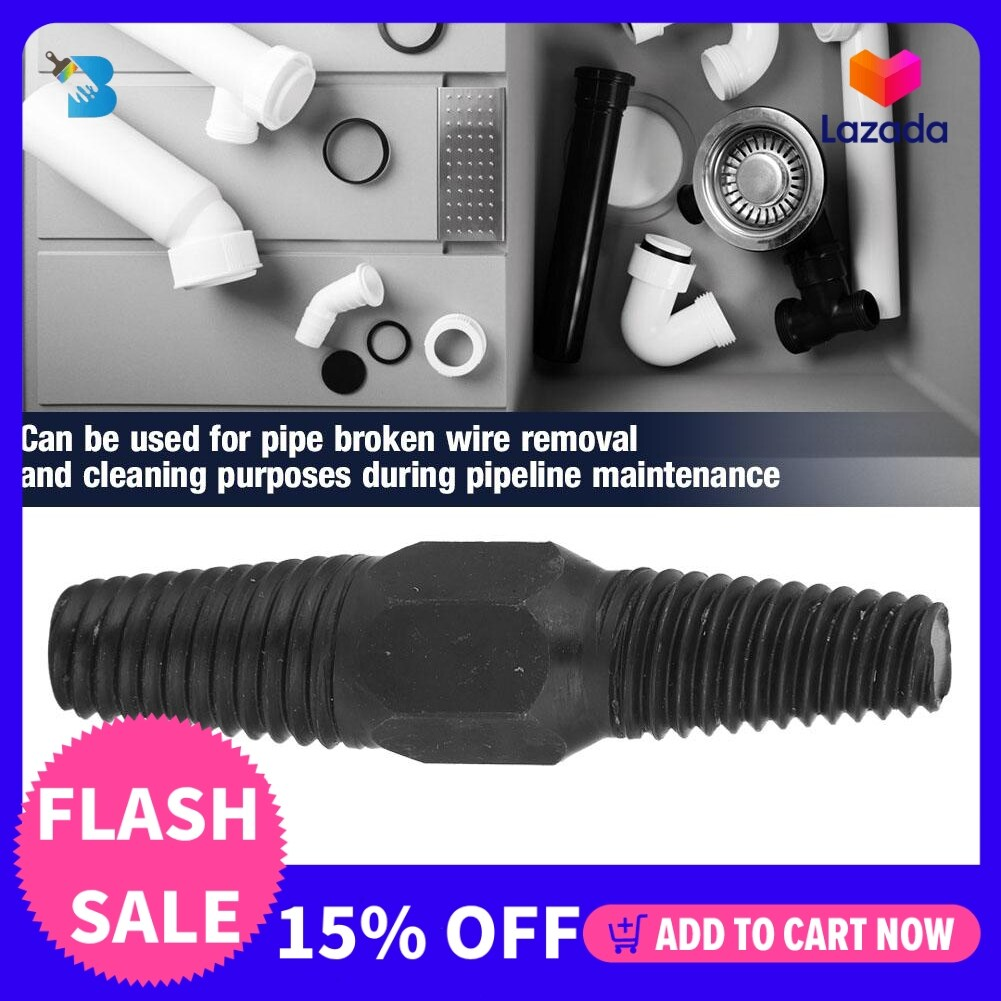 [Quality assurance]Double Head Pipe Broken Screw Bolt Extractor Damaged Screw Remover 1/2  + 3/4  Dual Use