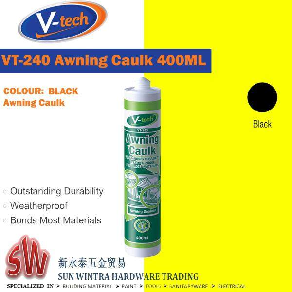 V-Tech 400ML Awning Caulk (Awning Sealant)(WHITE/BLACK/GREY)