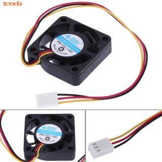 Tenda 3 Pin 40 Mm Quạt Làm Mát CPU Máy Tính Quạt Tản Nhiệt PC 4 Cm 40X40X10 Mm DC 12V thumbnail