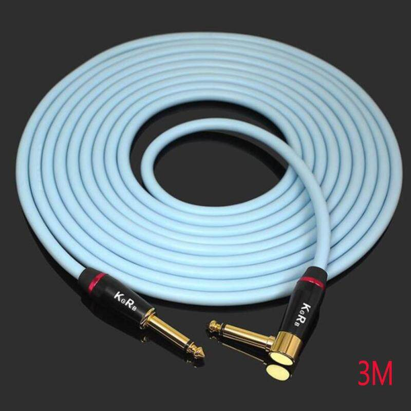 KGRB Electric Guitar Cable Connecting Line Instrument Bass Keyboard Drum Pure Copper Noise Reduction Shield Malaysia