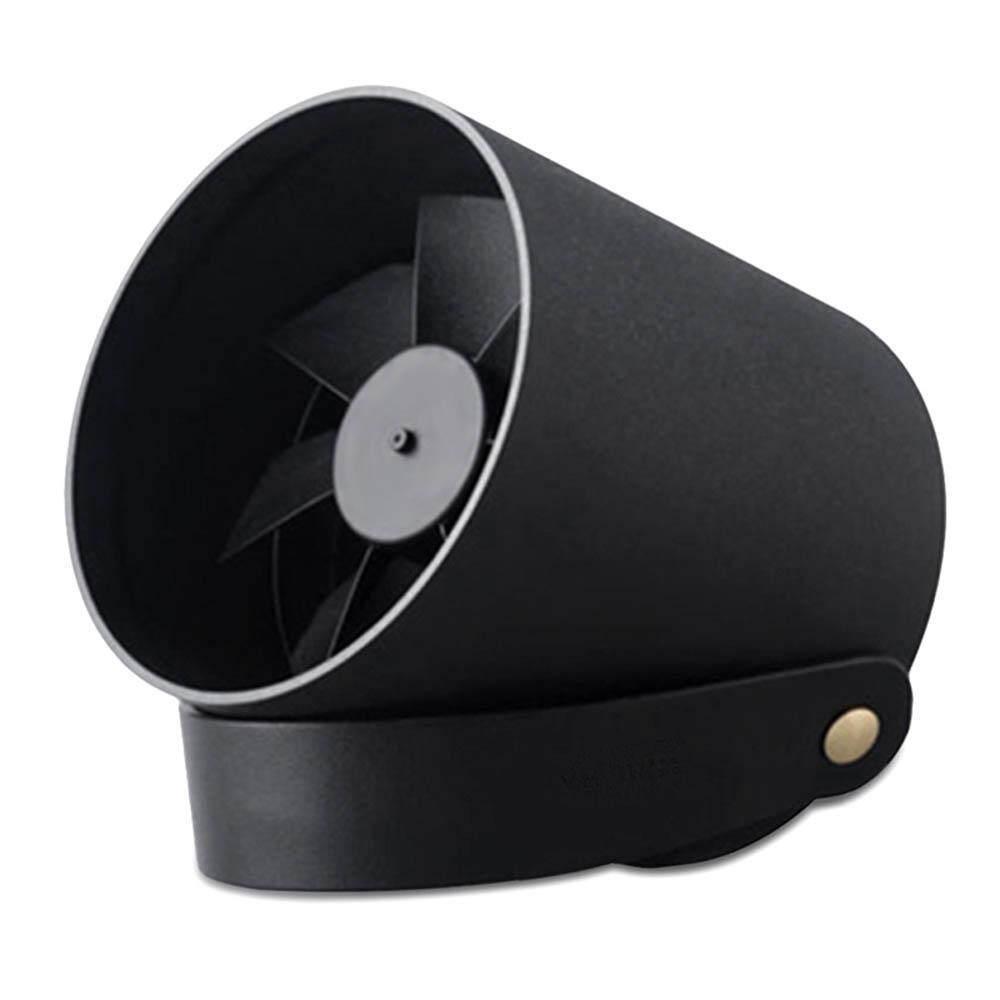Auoker Portable Desk Stand Cooling Fan, Hanging Metal Quiet Fan, Smart Touch Switch, 2 Speed Wind Mini USB Charge Fan(10*10cm)
