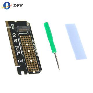 Thẻ Chuyển Đổi PCIE NVME M.2 SSD Sang PCIE X16 Giao Diện M-key, Dành Cho Windows 7 8 10 Linux thumbnail