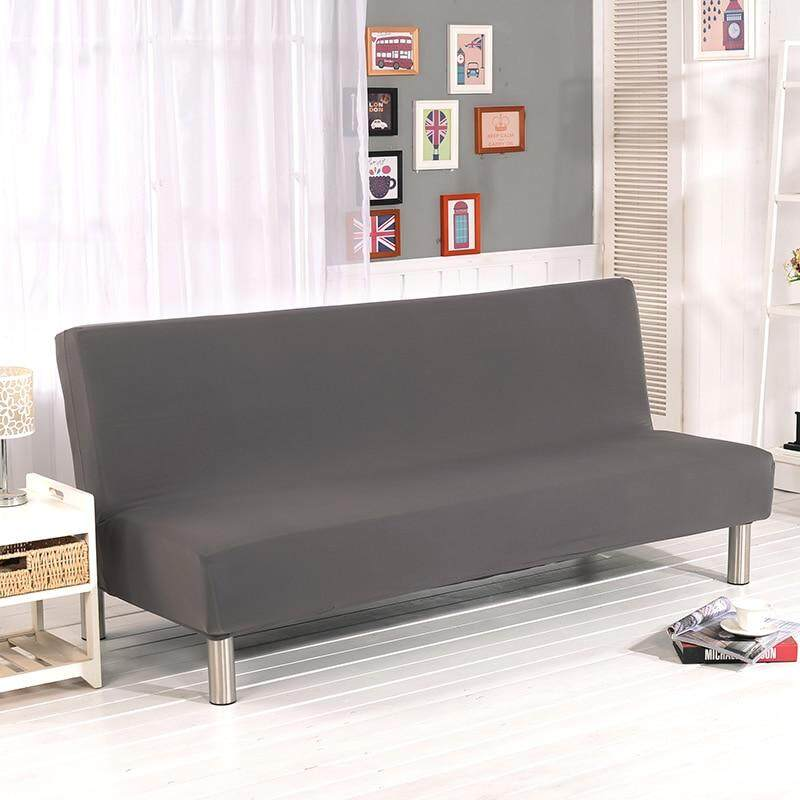 Universal Armless Sofa Bed Coverspandex
