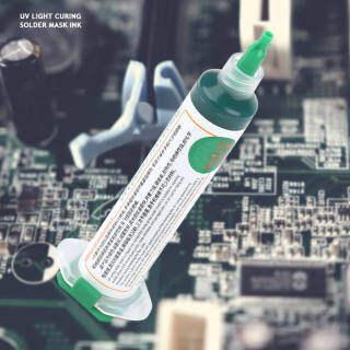 2 cái UV Light chữa Hàn mực BGA PCB UV Hàn chống mực Hàn chống mực màu xanh lá cây thumbnail
