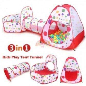 3 IN 1 KIDS PLAY TENT TUNNEL PLAY HOUSE toys for girls