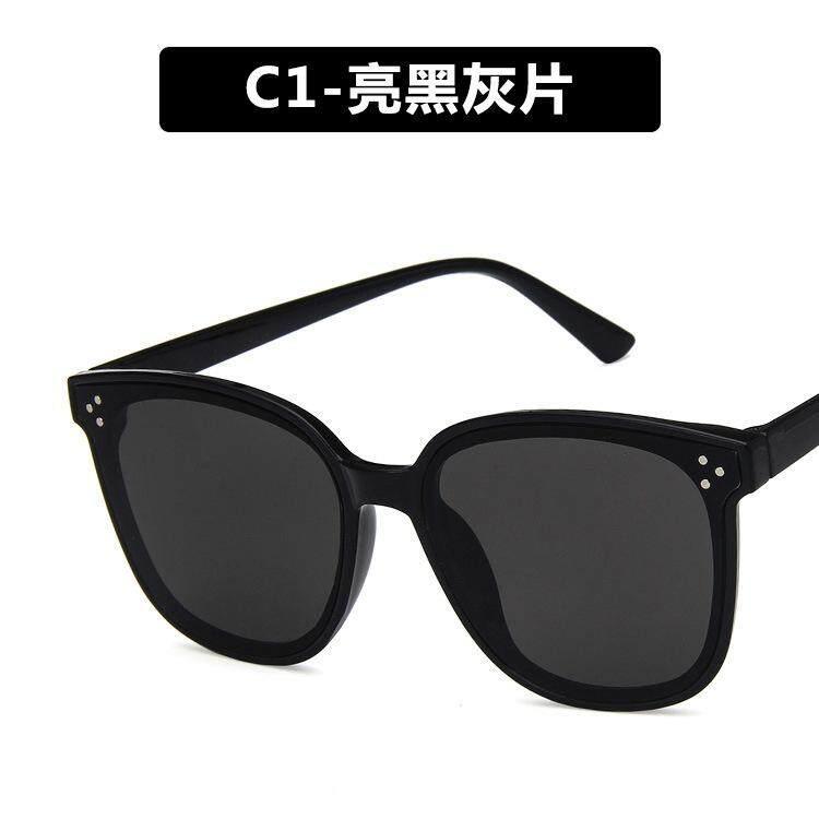 Retro ผู้หญิงแว่นตากันแดดเกาหลีแว่นกันแดดกล่องใหญ่สำหรับชายแนวโน้มแฟชั่น Uv400 ป้องกัน Lightweight Clear เลนส์แว่นตาแว่นสายตา By Digitchocolate.