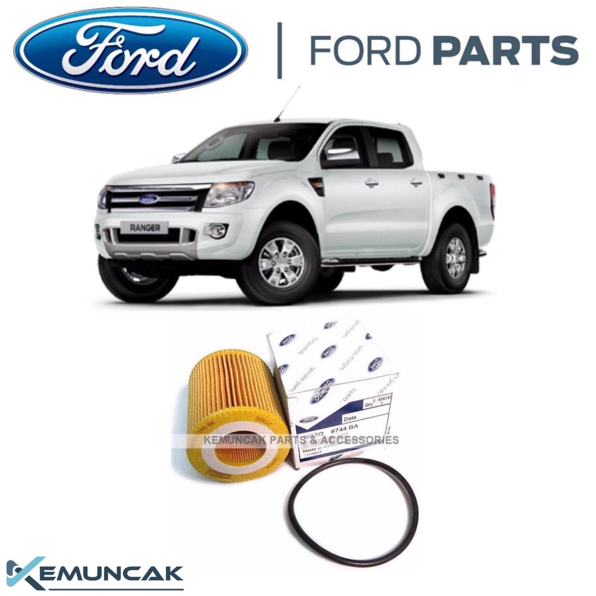 2012-2017 Service Kit Ford Fiesta MK7 1.0 EcoBoost Sport Huile Filtres à Air Bougies