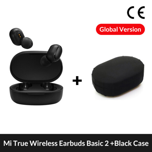 Xiaomi Redmi AirDots 2 Earphone Bluetooth Headset 5.0 TWS True Wireless Stereo SBC Cute Mini Light Earphones Auto Charging box  (No Cable) Singapore