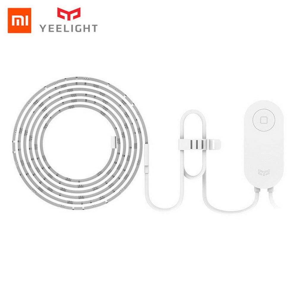 Original Xiaomi Yeelight RGB Wi-Fi LED 2M Smart Light Strip For Mi Home  APP, Works With Alexa Google Home Assistant RGB