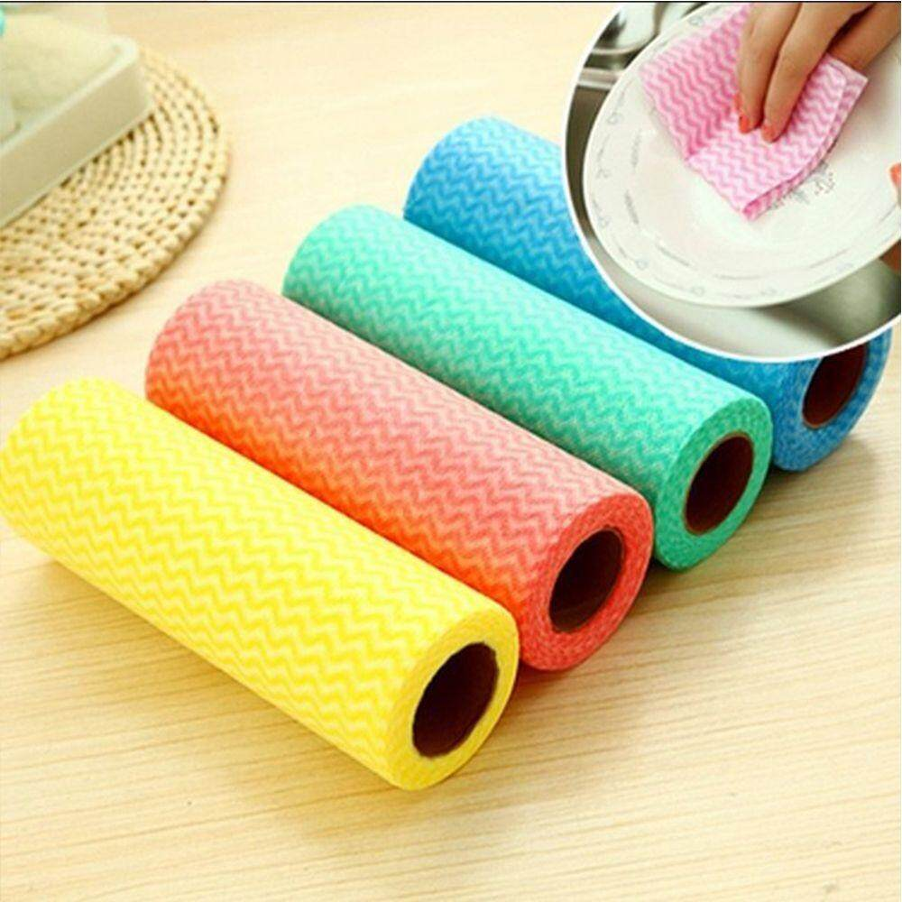 Non-woven Fabric Home Essential Kitchen Cleaning Cloth Dish Bowl Towels
