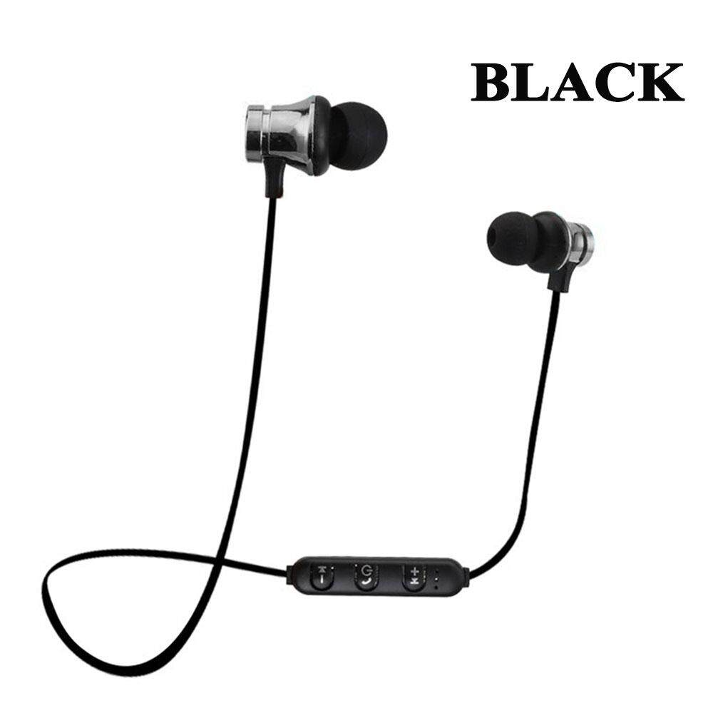 Wireless Bluetooth Earphone Sports Earbuds in-ear Headset Stereo Music Build-in Mic with