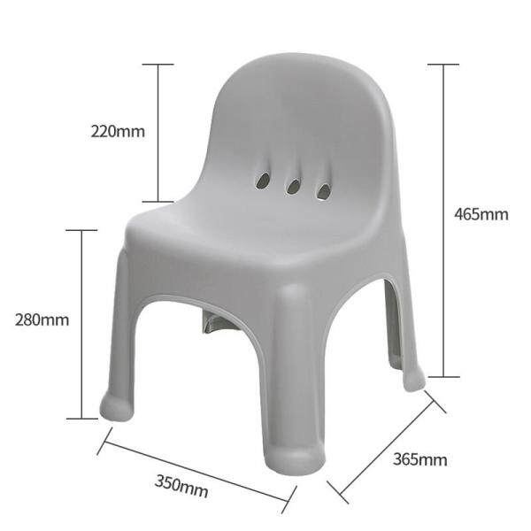 Citylong Plastic Stools Thickened CHILDRENS Chair Kindergarten Armchair Kids Learning Chairs Home Anti-slip Stool