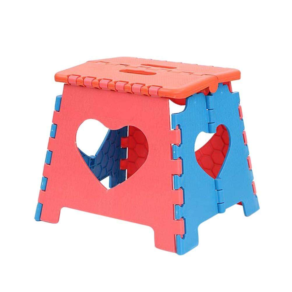 1pc Folding Step Stool Portable Plastic Small Stool Chair Bench for Children Adults Kids Travel Kitchen Bathroom Outdoors